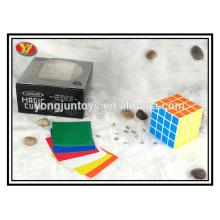 Cubo cuadrado mágico plástico 4x4
