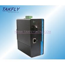 10/100 / 1000m 1-Port Industrial Grade Nicht verwalteter Ethernet Switch mit Poe