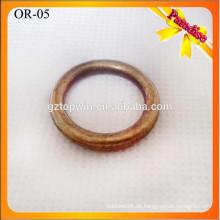 OR05 Metallbeschläge für Ledertaschen, Metall O Ring, Handtasche Hardware Dekoration