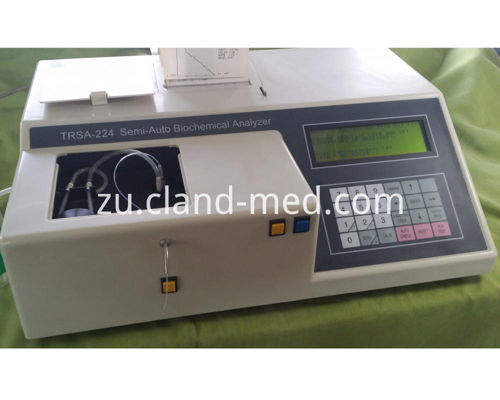 High Quality Semi Auto Biochemistry Analyzer