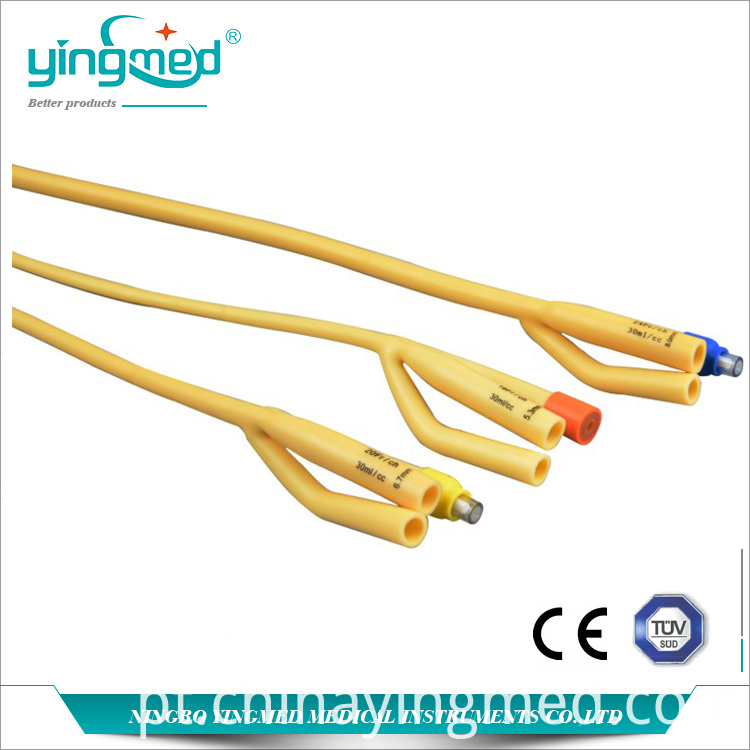 3 Way Latex Foley Catheter