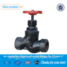 flanged cast iron globe control valve steam globe valve drawing made in china