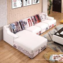 Nice Whosale 3 lugares baratos sofá