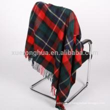 manta de tartan de lã de uso doméstico