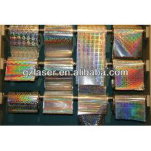 Hologramm kristallklare Laminierfolie für Geschenkpaket