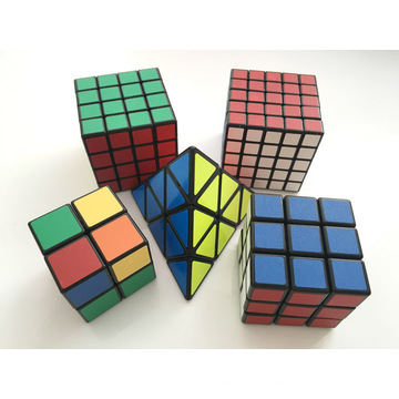Speed ​​Cube 3X3 Stickerless Colorido Enhanced Edition Smooth Magic Cube