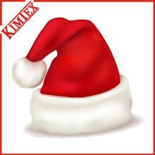 Sombrero de Papá Noel de la Navidad del paño grueso