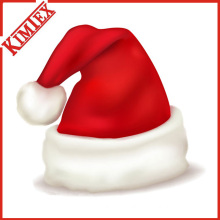 High Quality Fleece Christmas Santa Claus Hat