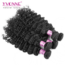 Factory Wholesale 100% Virgin Deep Wave Indian Hair