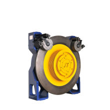 Elevador peças, máquina de tração gearless VVVF, 320kg - 2500kg