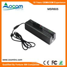 Lector de tarjetas magnéticas populares Swipt de MSR605 y Wirter con puerto USB o serie