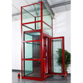 300kilos 4 Persons Factory Price Glass Villa Home Small Lift