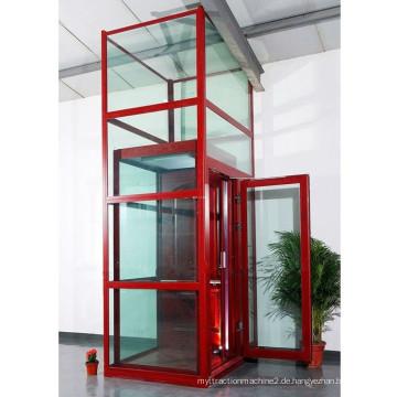300kilos 4 Personen Fabrik Preis Glas Villa Haus Kleine Lift