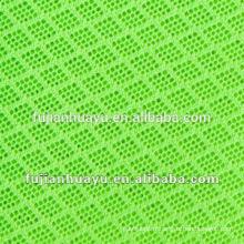 Tissu Air Mesh, tissu en maille polyester pour chaussures, 100% tissu en maille polyester