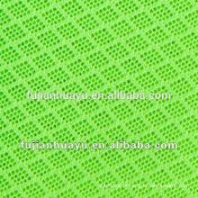 Air Mesh tecido, tecido de malha de poliéster para sapatos, 100% tecido de malha de poliéster