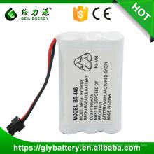 Baterías recargables de NIMH 5 / 4AAA BT446 3.6V 900mAh para UNIDEN