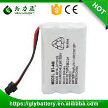 Rechargeable NIMH 5/4AAA Batteries BT446 3.6V 900mAh for UNIDEN
