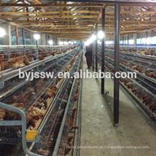 Ein Typ 3 Tier 5 Zellen 120 Hühnervögelschichtkäfige