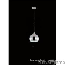 Home Decoration 15W CFL  Polished Chrome  Iron Pendant Lamp