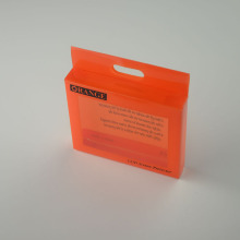 Saiz disesuaikan sutera plastik percetakan berwarna-warni lembut lipatan kotak pembungkusan bekas