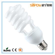 Lâmpada compacta leve 30W 35W da economia de energia da espiral