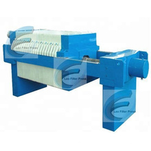 Leo Filter Press Small Manual Hydraulic Testing Filter Press