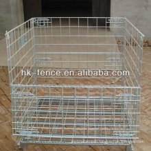 40''x48''x42'' Hot Dipped Galvanized Stackable Storage Wire Container