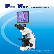 Professional Video Digital LCD Screen Biological Microscope with Software (XSZ-PW208LCD)