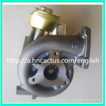 Gt2052V Turbocompresor 705954-5015s 14411-6060A para el motor Nissan Zd30