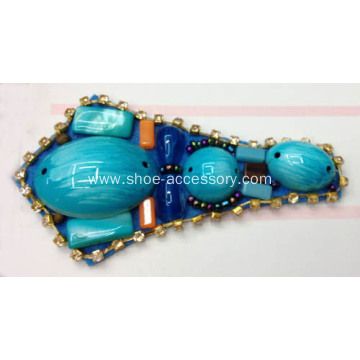 Vintage Handmade Shoe Ornaments for Sandals, 2014 Popular T-Shaped Sandal Trim for Lady