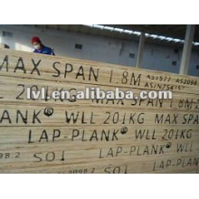 Wbp pegamento pine lvl andamio tablón