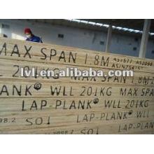Wbp glue pine lvl scaffolding plank