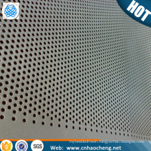1.5mm 2mm Thick molybdenum perforated metal screen sheet