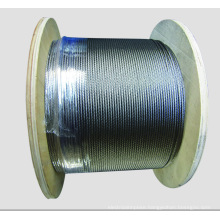 7X7 Dia.1.0mm to 10mm Galvanized steel wire rope