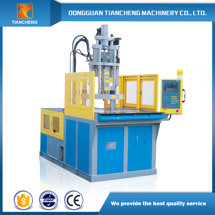 Rotary Table Vertical Plastic Injection Machine