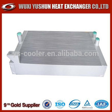 high performance aluminum customized oil to water radiator manufacturer