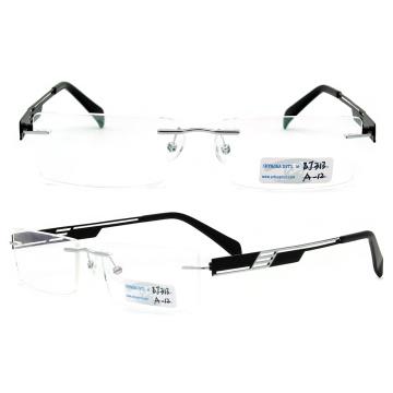 Nouveaux modèles Lunettes en métal sans lunette (BJ12-313)