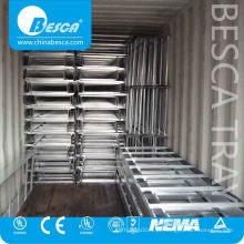 Escada de cabo entalhado de melhor qualidade para suporte de cabo