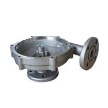 Plaque de moulage mécanique sous pression en alliage d'aluminium avec bride
