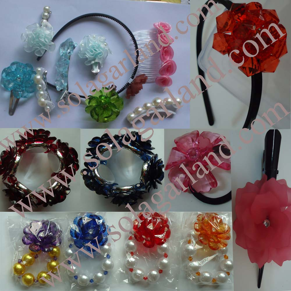 Acrylic Transparent Artificial Beading Flower