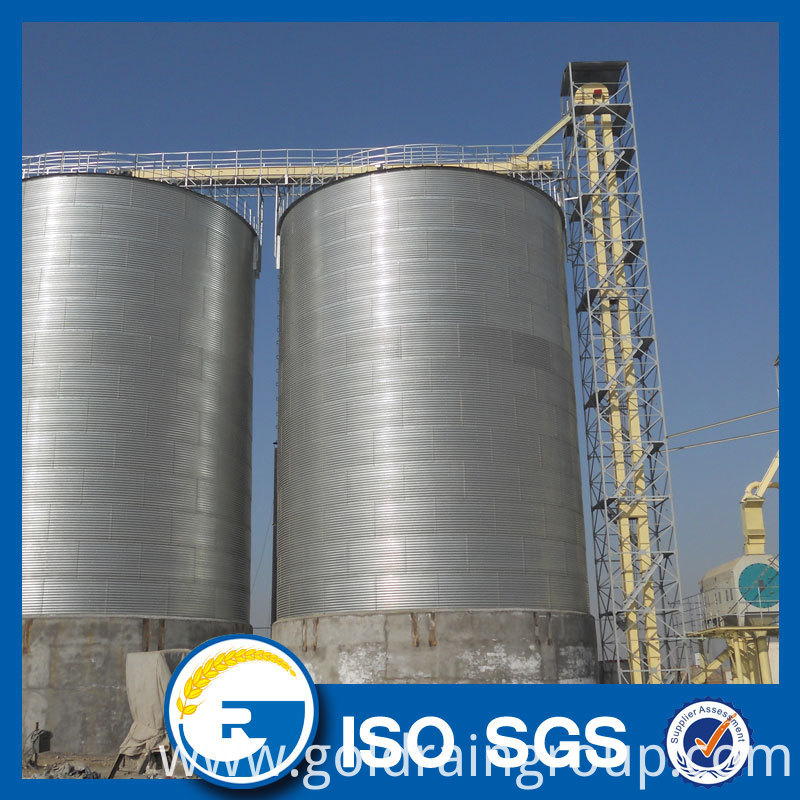 hot-galvanized steel silo