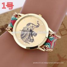 Reloj de pulsera más reciente con banda de armadura / relojes de señora para las mujeres BWL025
