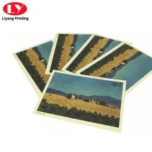 nueva tarjeta de regalo colorida de la impresión de la postal del desgin