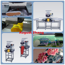China Shenzhen Elucky high speed different single head embroidery machine with top quality for textile embroidery