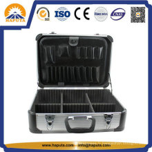 Coffre à outils en métal aluminium portable avec poches (Ht-2229)