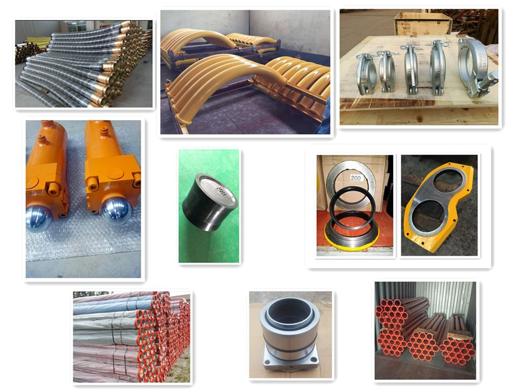 other concrete pump spare parts