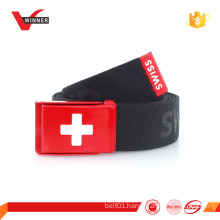 Wholesale customized logo canvas belts