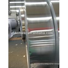 Aluminium rounded edge strip