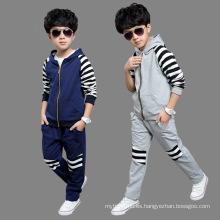 Trajes del deporte del muchacho de la moda de la ropa de los niños al por mayor
