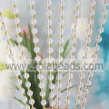 Acrylic Crystal Faceted Beads Wall Hanging Curtain